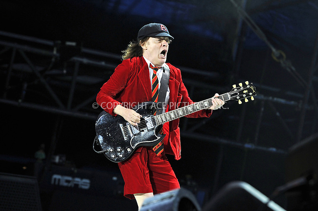 WWW.ACEPIXS.COM<br /> <br /> July 4 2015, London<br /> <br /> Angus Young of AC/DC performs at Wembley Stadium on July 4 2015 in London <br /> <br /> By Line: Famous/ACE Pictures<br /> <br /> <br /> ACE Pictures, Inc.<br /> tel: 646 769 0430<br /> Email: info@acepixs.com<br /> www.acepixs.com