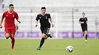 Orlando, Florida - Saturday January 13, 2018: Lucas Stauffer. Match Day 1 of the 2018 adidas MLS Player Combine was held Orlando City Stadium.