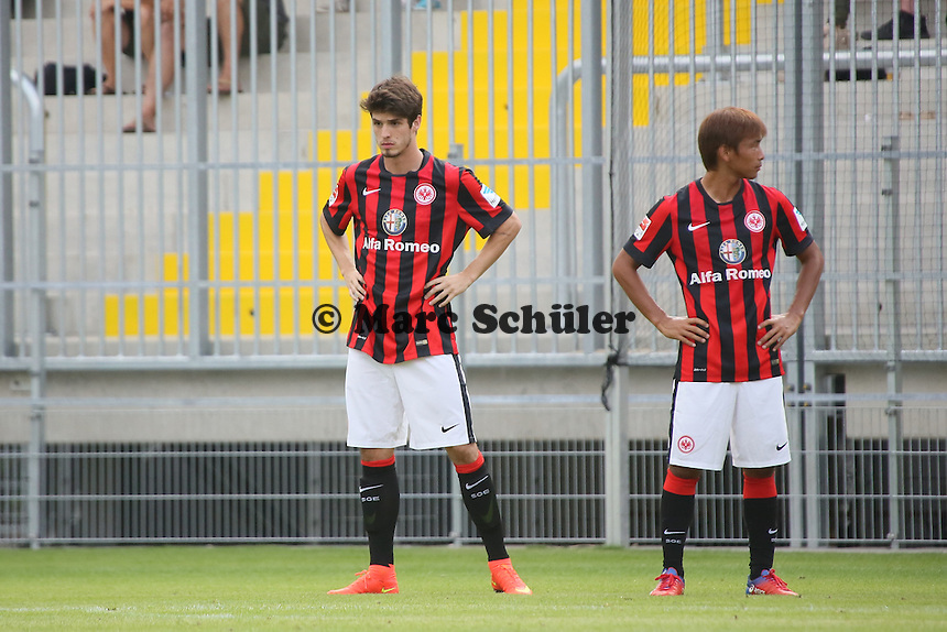 Lucas Piazon (Eintracht) kommt in der 25. Minute für Stefan Aigner