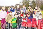 Pobailscoil Inbhear Sceine, Kenmare athletes at the Kerry Vocational School's Cross Country athletic championships in Killarney on Friday front row l-r: Dean O'Sullivan, Dan Horgan, Finbarr Kennedy, Aidan O'Sullivan, Conor Maye, Niall Sullivan. Middle row: Magella Murphy, William O'Rourke, Patricia Harris, Annie Cooper, Ellie Gudgeon, Meagan O'Sullivan, Shauna Reilly. Back row: Ronan Lucey, Sander van Kouwen, Mark Horgan and Richard Rice