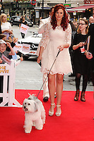 Ashleigh Butler and Pudsey <br /> arriving for the premiere of &quot;Pudsey the Dog the movie&quot; at the Vue cinema, Leicester Square, London. 13/07/2014 Picture by: Steve Vas / Featureflash