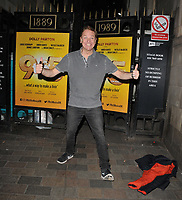 "Brian Conley at the ""9 To 5 The Musical"" theatre cast stage door departures, Savoy Theatre, The Strand, London, England, UK, on Friday 31st May 2019.<br /> CAP/CAN<br /> ©CAN/Capital Pictures"