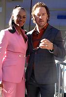 Tika Sumpter and Mark-Paul Gosselaar at Good Morning America