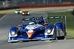 20 July 2007: The van der Steur Racing Radical SR9-AER driven by Gunnar van der Steur (DEU)  and Adam Pecorari (USA) at the Acura Sports Car Challenge at Mid-Ohio, 2007, Lexington, Ohio.