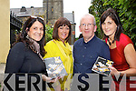 Launching the Kfest music and arts festival in Sol u Sombre Killorglin on Friday evening were l-r: Nikki Roberts, Catherine Evans, Mike Dowd Chairperson and Cliodhna Foley the festival will be held in Killorglin over the June bank holiday weekend