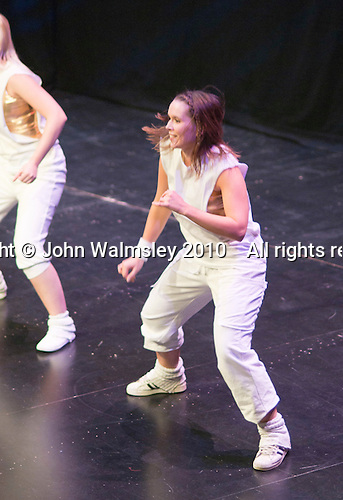 "Hannah Greenslade from the Flight Dance Company, performing.   Special Olympics Surrey put on a show,   ""Beyond the Stars"", at the Rose Theatre, Kingston upon Thames to raise money for the  SOGB team.  The Special Olympics are for athletes with learning disabilities."