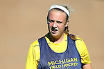 14 November 2015: Michigan's Regan Leavitt. The Wake Forest University Demon Deacons played the University of Michigan Wolverines at Francis E. Henry Stadium in Chapel Hill, North Carolina in a 2015 NCAA Division I Field Hockey Tournament First Round match. Michigan won the game 2-1.