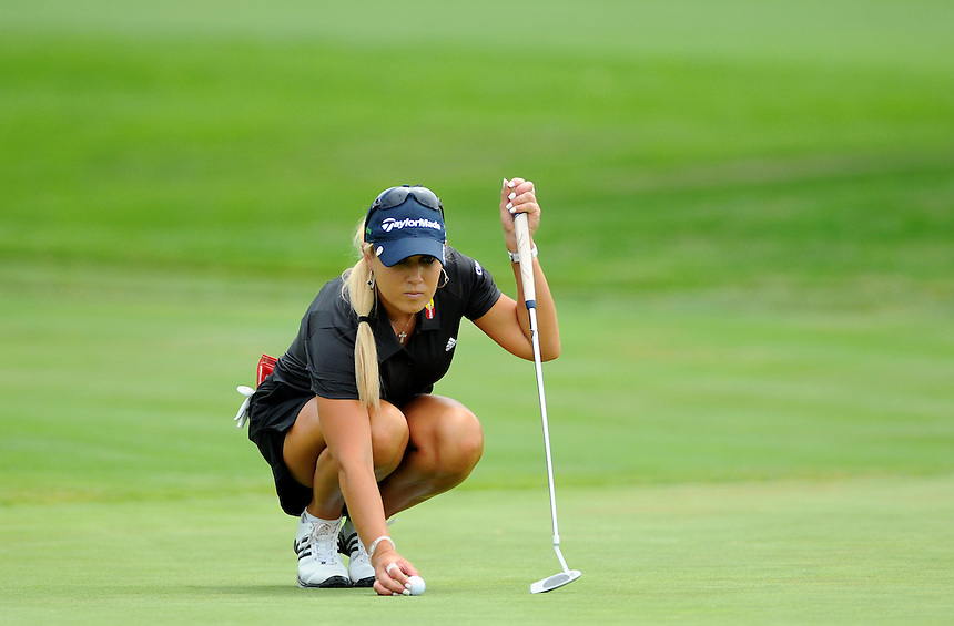 10 JULY 2011:   Natalie Gulbis of Las Vegas, Nevada, USA during the final round of the LPGA U.S. Women's Open at the Broadmoor in Colorado Springs, Colorado.   *****For Editorial Use Only*****