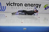 SCHAATSEN: HEERENVEEN: IJsstadion Thialf 05-02-2016, Topsporttraining en wedstrijd, Gijs Esders, ©foto Martin de Jong