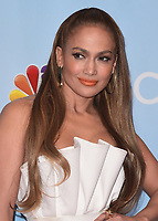 """UNIVERSAL CITY, CA - JANUARY 30:  Jennifer Lopez at NBC's """"World of Dance"""" Red Carpet Event at the Universal Lot on January 30, 2018 in Universal City, California. (Photo by Scott Kirkland/PictureGroup)"""