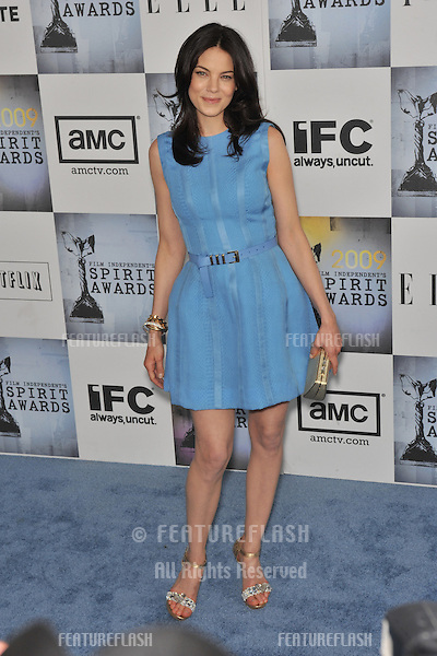 Michelle Monaghan at the Film Independent Spirit Awards on the beach at Santa Monica, CA..February 21, 2009  Santa Monica, CA.Picture: Paul Smith / Featureflash