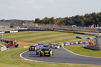 Round 10 of the 2018 British Touring Car Championship.  Race one start.