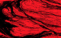 Abstract red marbled pattern