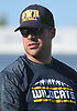 Coach Matt Millheiser of Shoreham-Wading River supervises practice at Hofstra University on Tuesday, June 20, 2017. The best seniors from Long Island will battle their New York City counterparts in the 22nd annual Empire Challenge on Wednesday, June 21 at Shuart Stadium.