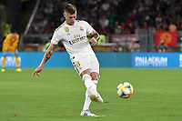 Toni Kroos of Real Madrid <br /> Roma 11/08/2019 Stadio Stadio Olimpico Football friendly match pre season 2019/2020 AS Roma - Real Madrid <br /> Mabel Green Cup Trophy <br /> Foto Andrea Staccioli / Insidefoto