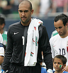 24 June 2007:  USA's Tim Howard (1). The United States Men's National Team defeated the national team of Mexico 2-1 in the CONCACAF Gold Cup Final at Soldier Field in Chicago, Illinois.