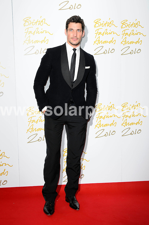 **ALL ROUND PICTURES FROM SOLARPIX.COM**                                             **WORLDWIDE SYNDICATION RIGHTS**                                                                                  Caption: the British Fashion Awards at The Savoy in London, UK. 7 December 2010                                                                            .This pic: David Gandy                                                                 ..JOB REF: 12582 MSR       DATE: 07_12_2010                                                           **MUST CREDIT SOLARPIX.COM OR DOUBLE FEE WILL BE CHARGED**                                                                      **MUST AGREE FEE BEFORE ONLINE USAGE**                               **CALL US ON: +34 952 811 768 or LOW RATE FROM UK 0844 617 7637**