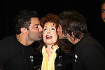 Suzanne Rogers with Mr. Romance Contestants Shane & Jeremy at Romantic Times Booklovers Annual Convention 2011 - The Book Industry Event of the Year - April 9, 2011 at the Westin Bonaventure, Los Angeles, California for readers, authors, booksellers, publishers, editors, agents and tomorrow's novelists - the aspiring writers. (Photo by Sue Coflin/Max Photos)