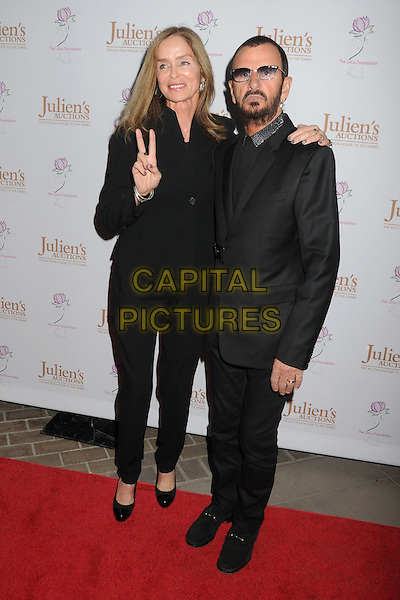 1 December 2015 - Beverly Hills, California - Barbara Bach, Ringo Starr. The Collection of Ringo Starr and Barbara Bach Exhibition held at Julien's Auctions. <br /> CAP/ADM/BP<br /> &copy;BP/ADM/Capital Pictures