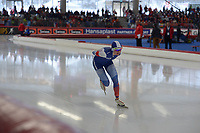SPEEDSKATING: INZELL: Max Aicher Arena, 09-02-2019, ISU World Single Distances Speed Skating Championships, 5000m Ladies, Natalia Voronina (RUS), ©photo Martin de Jong