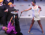 Jason C. Brown and Brenda Braxton from 'WikiMusical' perform in a special preview of the 2014 New York Musical Theatre Festival (NYMF) at Ford Foundation Studio Theatre in The Pershing Square Signature Center on July 2, 2014 in New York City.