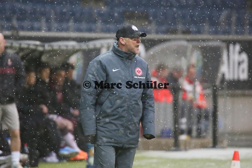 Trainer Thomas Schaaf (Eintracht) - Eintracht Frankfurt vs. Servette Genf, Commerzbank Arena