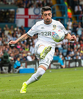 Leeds United's Pablo Hernandez<br /> <br /> Photographer Alex Dodd/CameraSport<br /> <br /> The EFL Sky Bet Championship - Leeds United v Nottingham Forest - Saturday 10th August 2019 - Elland Road - Leeds<br /> <br /> World Copyright © 2019 CameraSport. All rights reserved. 43 Linden Ave. Countesthorpe. Leicester. England. LE8 5PG - Tel: +44 (0) 116 277 4147 - admin@camerasport.com - www.camerasport.com