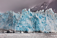 Tidewater face of surprise glacier in Harriman Fjord, Prince William Sound, southcentral, Alaska.