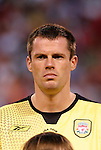 3 August 2004: Jamie Carragher. Liverpool of the English Premier League defeated AS Roma of Italy's La Liga 2-1 at Giants Stadium in the Meadowlands Complex in East Rutherford, NJ in a ChampionsWorld Series friendly match..