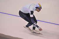 SPEEDSKATING: CALGARY: 15-11-2015, Olympic Oval, ISU World Cup, 1500m, Bart Swings (BEL), ©foto Martin de Jong