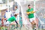 Declan O'Sullivan celebrates moments before his goal was disallowed in the Muster Senior Semi final held in The Gaelic Grounds last Saturday evening.