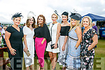 Enjoying the Killarney Races on Thursday were  Siobhan Quinlan, Suzanne O'Donoghue, Lisa Brosnan, Cara Maloney, Ciara Kelly, Christina Hegarty, Danielle OShea