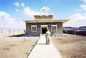 Irak 2000. Eglise de Levo, a christian village near Zakho.   Iraq 2000. The church of Levo, christian village, near Zakho