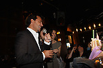 Ricky Paull Goldin and Alicia Minshew at All My Children's Good Night Pine Valley was held on September 17, 2011 at Prohibition, New York City, New York.  (Photo by Sue Coflin/Max Photos)