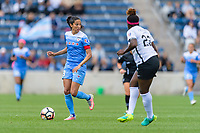 Bridgeview, IL - Sunday June 25, 2017: Christen Press during a regular season National Women's Soccer League (NWSL) match between the Chicago Red Stars and Sky Blue FC at Toyota Park.