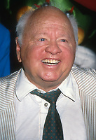 Mickey Rooney, 1992, Photo By Michael Ferguson/PHOTOlink