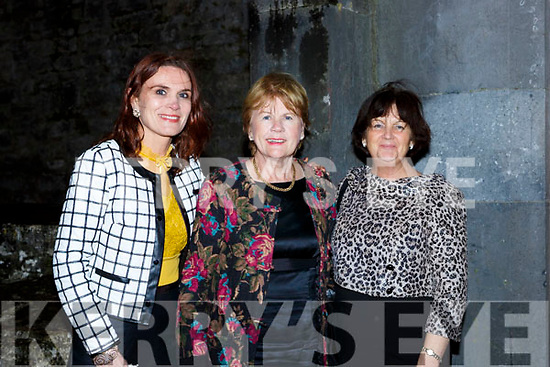 Ciara Kearney, Pat Galvin and Marsie Barry at the Castleisland Fashion show in the Ivy Leaf on Thursday night