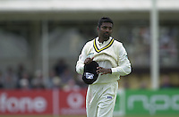 31/05/2002.Sport -Cricket - 2nd NPower Test -Second Day.England vs Sri Lanka.Muttiah Muralitharan. [Mandatory Credit Peter Spurrier:Intersport Images]