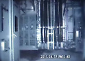 April 20, 2011, Tokyo, Japan - The camera mounted on a remote-controlled robot shows a black smear on the floor inside the nuclear reactor building Unit 3 at Fukushima No.1 Nuclear Power Station on Sunday, April 17, 2011. The images, record by a video camera mounted on the second robot, was released on Wednesday, April 20, by Tokyo Electric Power Co., the operator of the crippled nulcear plant, some 200km northeast of Tokyo. (Photo by TEPCO/AFLO) [0006] -mis-