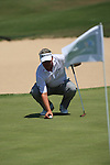 Darren Clarke (NIR) finishing off at 5 under on day one of the Iberdrola Open from Pula Golf Club ,Son Servera, Mallorca, Spain. 12/5/2011..Picture Fran Caffrey/www.golffile.ie