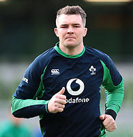 8th February 2020; Aviva Stadium, Dublin, Leinster, Ireland; International Six Nations Rugby, Ireland versus Wales; Peter O'Mahony (Ireland) warming up before the match