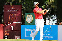 Jos&eacute;-Filipe Lima (POR) during the final round of the Ras Al Khaimah Challenge Tour Grand Final played at Al Hamra Golf Club, Ras Al Khaimah, UAE. 03/11/2018<br /> Picture: Golffile | Phil Inglis<br /> <br /> All photo usage must carry mandatory copyright credit (&copy; Golffile | Phil Inglis)