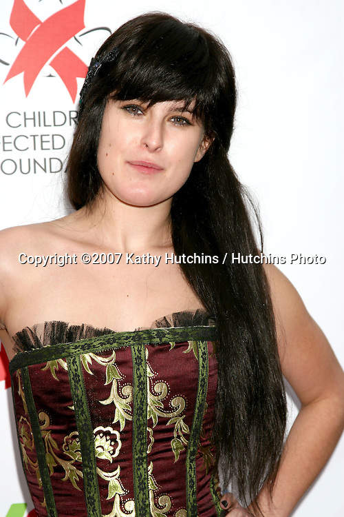 "Rumer Willis.""Dream Halloween"" 2007 - Benefitting the charity ""Children Affected by Aids Foundation"".Barker Hanger.Santa Monica,  CA.October 27, 2007.©2007 Kathy Hutchins / Hutchins Photo...               ."