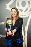 """Toñi Moreno attends """"Iris Academia de Television' awards at Nuevo Teatro Alcala, Madrid, Spain. <br /> November 18, 2019. <br /> (ALTERPHOTOS/David Jar)"""
