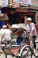 Cyclo driver, Saigon, Ho Chi Minh City, Vietnam