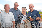 ODDS ON FAVOURITE: James Lambe, Sean O'Connor with Mary and Peter Lambe, pictured at Dingle races on Saturday afternnoon last.