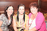 Frances McDonnell, Sarah Everitt and Caroline Moran at the Quiz in Foleys in aid of The Cancer Society and Crumlins Children Hospital...Picture Jenny Matthews/Newsfile.ie