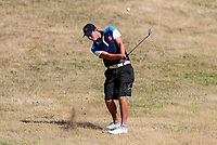 Regan McConaghty of Manawatu Wanganui. Day One of the Toro Interprovincial Men's Championship, Mangawhai Golf Club, Mangawhai,  New Zealand. Tuesday 5 December 2017. Photo: Simon Watts/www.bwmedia.co.nz