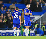 Chelsea's Branislav Ivanovic looks on unhappy at the final whistle<br /> <br /> Barclays Premier League- Chelsea vs Sunderland - Stamford Bridge - England - 19th December 2015 - Picture David Klein/Sportimage