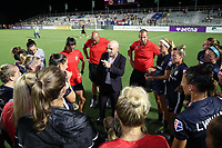 Cary, North Carolina  - Friday July 05, 2019: North Carolina Courage vs Houston Dash at Sahlen's Stadium at WakeMed Soccer Park.